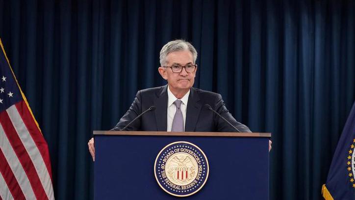 Chủ tịch FED Jerome Powell trong cuộc họp báo ngày 18/9 - Ảnh: Reuters.