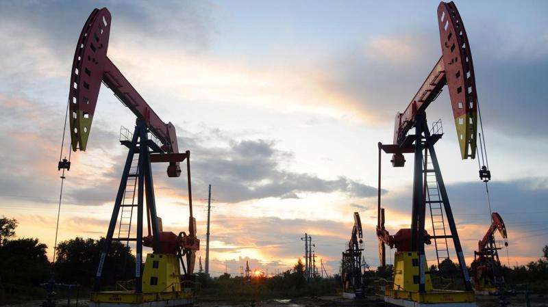 Một mỏ dầu ở Hắc Long Giang, Trung Quốc, tháng 8/2019 - Ảnh: Reuters.