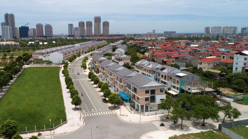 Tuyến đường rộng 27m mang lại lợi thế kinh doanh có 1-0-2 cho An Phú Shop-villa.