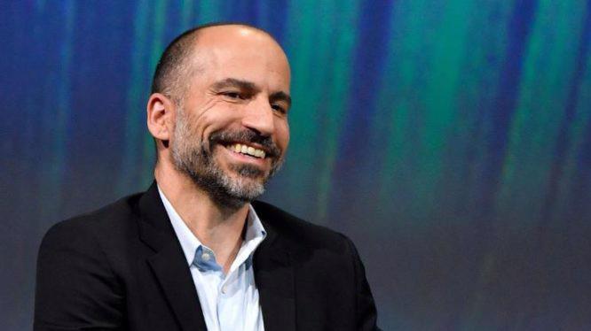 Ông Dara Khosrowshahi, CEO Uber.