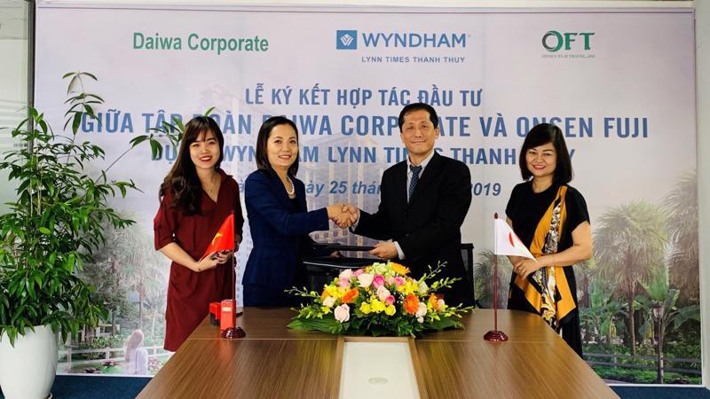 Wyndham Lynn Times Thanh Thủy chuyển nhượng 500 căn hộ khách sạn cho Daiwa Corporate Investment.