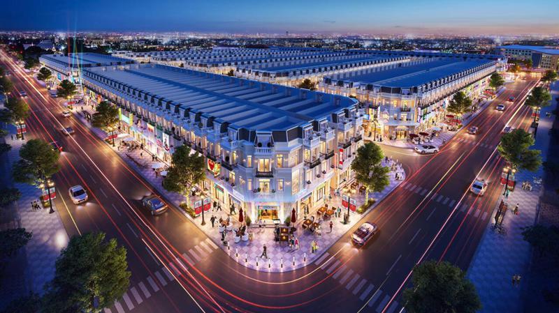 Sản phẩm nhà phố và Shophouse thu hút nhà đầu tư là bởi sản phẩm này đáp ứng tốt cho cả hai nhu cầu ở và kinh doanh.