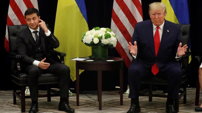 Tổng thống Ukraine Volodymyr Zelenskiy và Tổng thống Mỹ Donald Trump - Ảnh: Reuters.