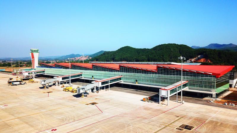 Cảng hàng không quốc tế Vân Đồn do Sun Group đầu tư.