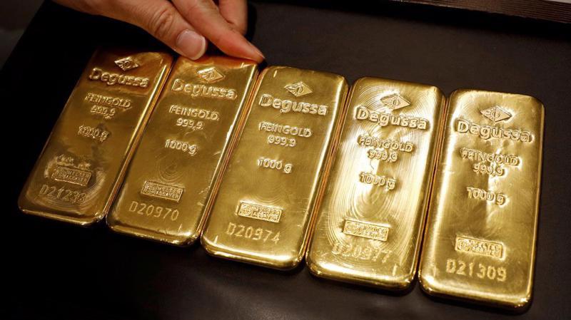 Giá vàng thế giới đã tăng 17% từ đầu năm - Ảnh: Reuters.