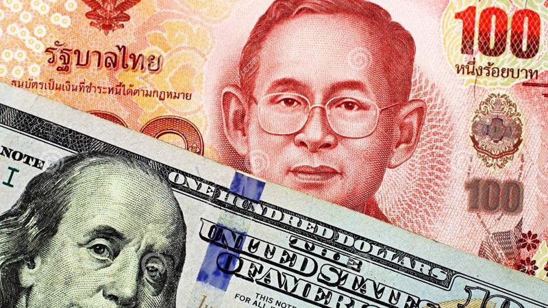 Từ đầu năm đến nay, đồng Baht đã tăng giá 7% so với USD, trở thành đồng tiền tăng giá mạnh nhất ở khu vực châu Á.