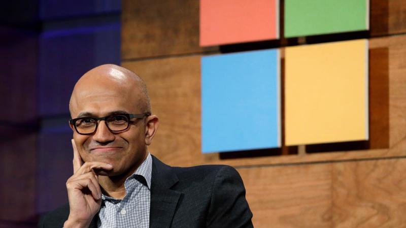 CEO Satya Nadella của Microsoft.