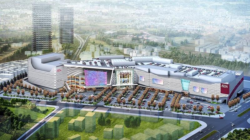 Aeon Mall Hà Đông đi vào hoạt động đáp ứng nhu cầu mua sắm đa dạng của cư dân.