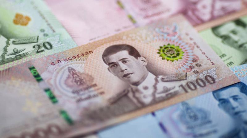 Đồng Baht đã tăng giá khoảng 8% so với đồng USD trong vòng 1 năm trở lại đây.