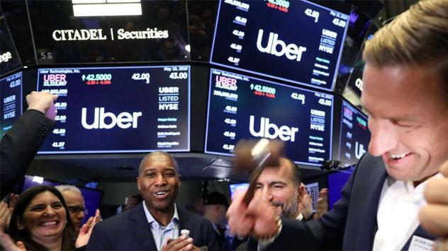 Các nhà giao dịch cổ phiếu trên sàn NYSE ở New York, Mỹ - Ảnh: Getty/CNBC.