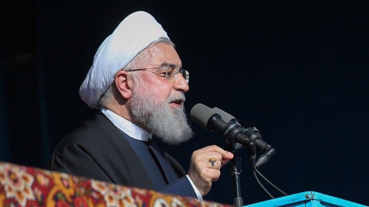 Tổng thống Iran Hassan Rouhani - Ảnh: Getty/CNBC.