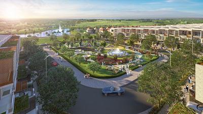 Nhà phố biển Para Grus - second home cạnh golf, hướng biển và thuộc tổ hợp giải trí nghỉ dưỡng KN Paradise.