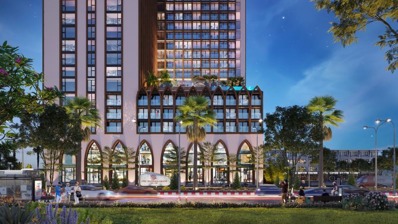 Dự án Apec Mandala Grand Phú Yên được khởi nguồn cảm hứng từ văn hóa Champa.