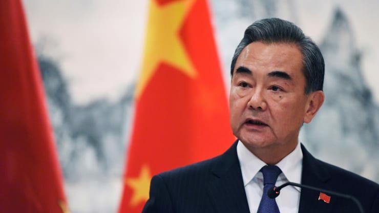 Ngoại trưởng Trung Quốc Vương Nghị - Ảnh: Reuters.