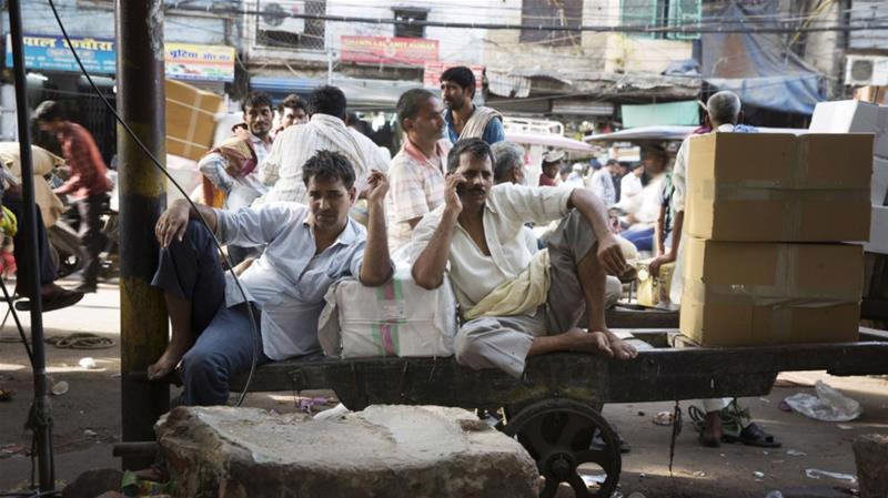 Tình trạng thất nghiệp ở Ấn Độ có chiều hướng gia tăng trong bối cảnh nền kinh tế giảm tốc - Ảnh: Bloomberg.