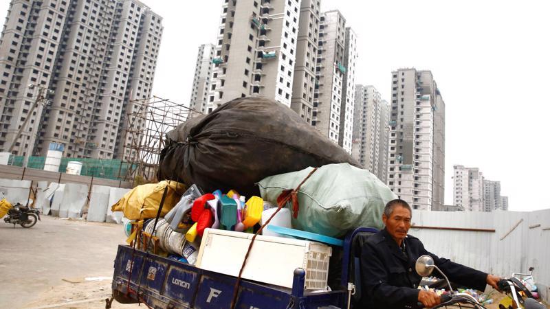 Năm ngoái, khối nợ doanh nghiệp ở Trung Quốc đã lên tới 165% tổng sản phẩm trong nước (GDP) - Ảnh: Nikkei.