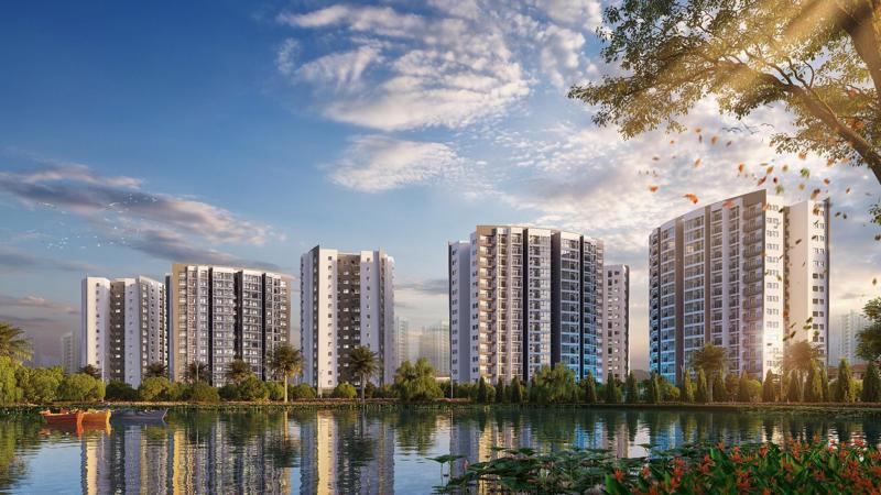 Sau khi hoàn thành, Le Grand Jardin sẽ tạo điểm nhấn riêng biệt tại khu vực với 50 tiện ích cao cấp xứng tầm.