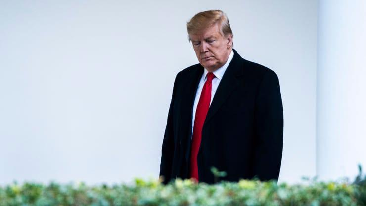 Tổng thống Mỹ Donald Trump - Ảnh: Washington Post.