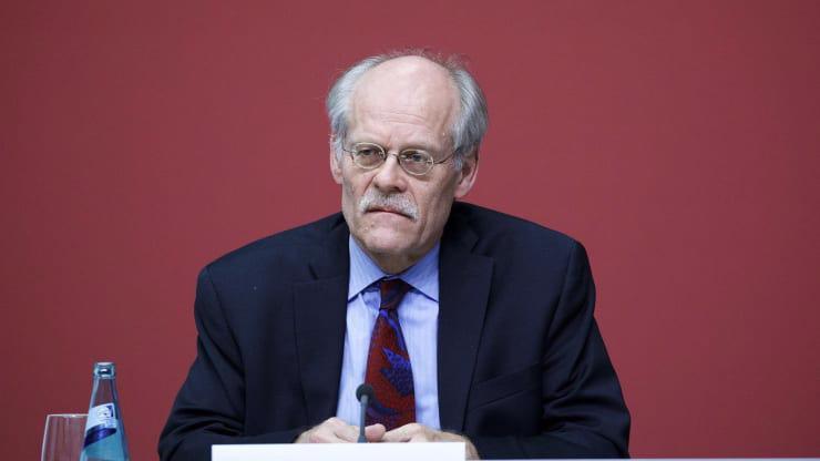 Ông Stefan Ingves, Thống đốc Ngân hàng Trung ương Thụy Điển (Riksbank) - Ảnh: Getty/CNBC.