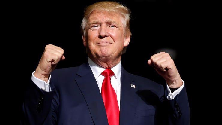 Tổng thống Mỹ Donald Trump - Ảnh: Reuters/CNBC.