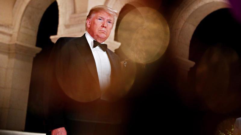 Tổng thống Mỹ Donald Trump tại khu nghỉ dưỡng Mar-a-Lago ở Florida, hôm 31/12 - Ảnh: Reuters.