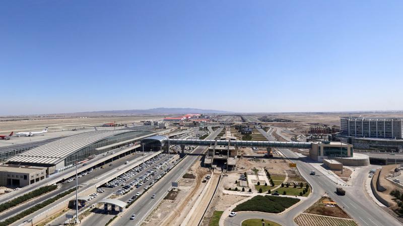 Sân bay quốc tế Imam Khomeini ở Tehran.