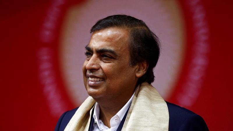Tỷ phú Ấn Độ Mukesh Ambani - Ảnh: FT.