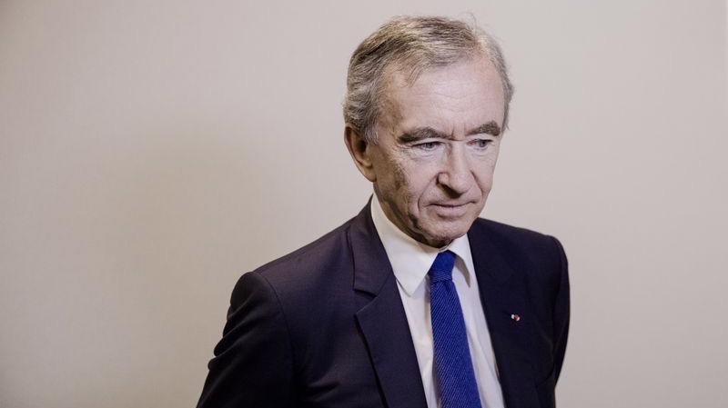 Tỷ phú Pháp Bernard Arnault - Ảnh: Bloomberg.