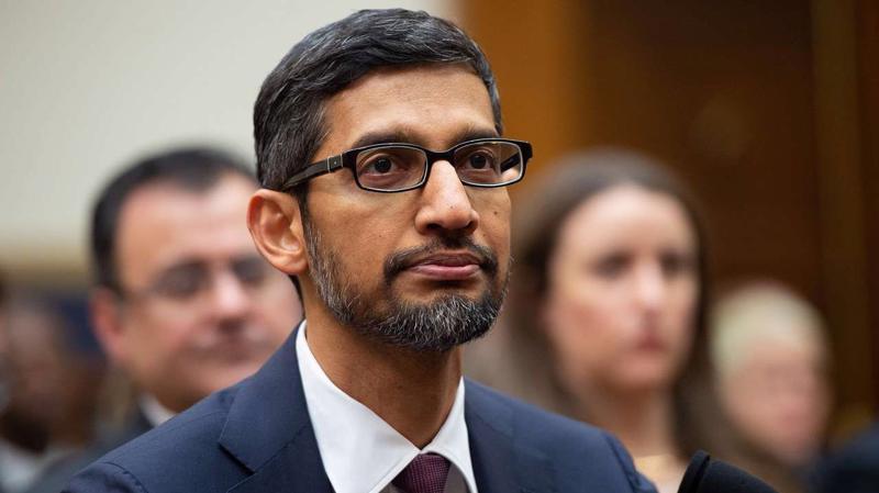Tổng giám đốc (CEO) Sundar Pichai của Alphabet, công ty mẹ của Google - Ảnh: Reuters.