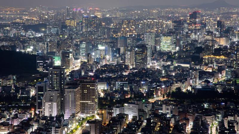 Thủ đô Seoul của Hàn Quốc - Ảnh: Bloomberg.