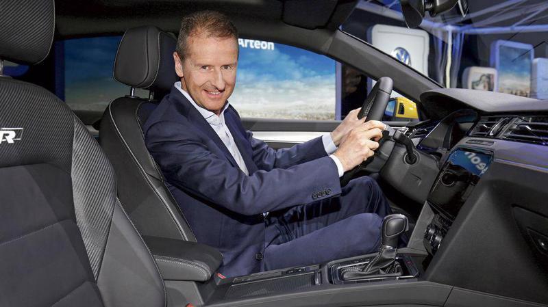 Ông Herbert Diess, CEO hãng xe Đức Volkswagen.