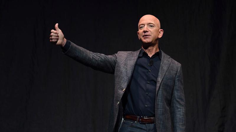 CEO Jeff Bezos của Amazon - Ảnh: Bloomberg.