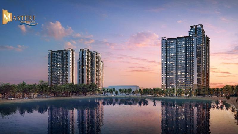Masteri Waterfront - dự án bất động sản cao cấp mang tầm quốc tế.