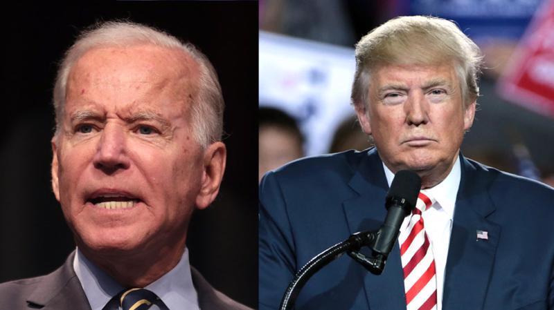 Hai ứng cử viên tổng thống Mỹ 2020: ông Joe Biden (trái) và ông Donald Trump - Ảnh: Reuters.
