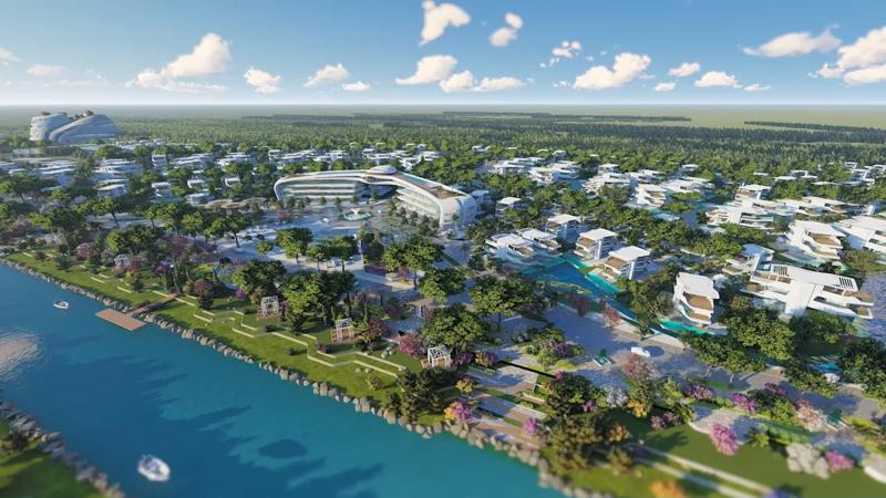 """Dự án Sunshine Heritage tại Hà Nội sở hữu 11km mặt nước """"độc nhất""""."""