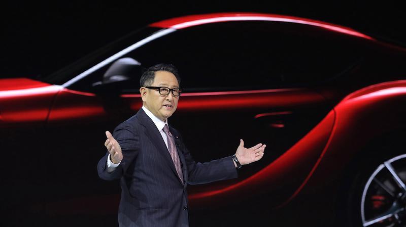 CEO Akio Toyoda của Toyota - Ảnh: Reuters.