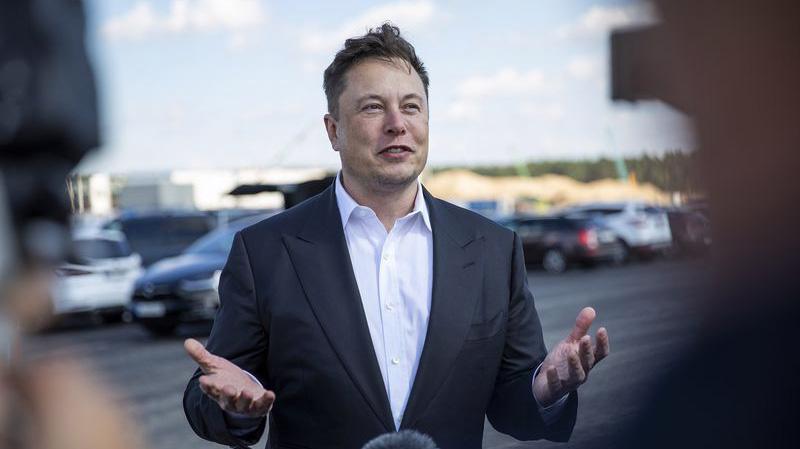 Tỷ phú Mỹ Elon Musk - Ảnh: Bloomberg.