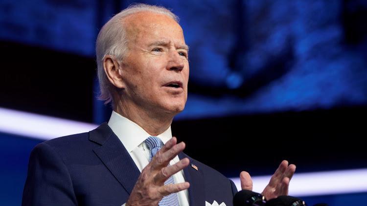 Ông Joe Biden phát biểu ngày 24/11 tại Delaware - Ảnh: Reuters.