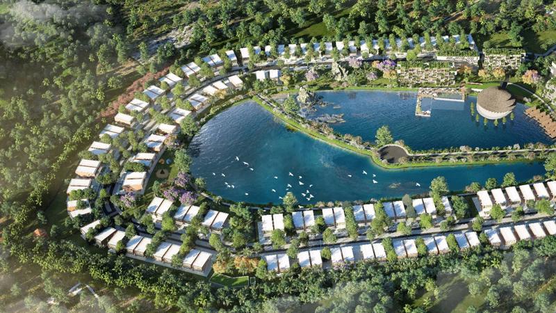 Phối cảnh dự án Vedana Resort.