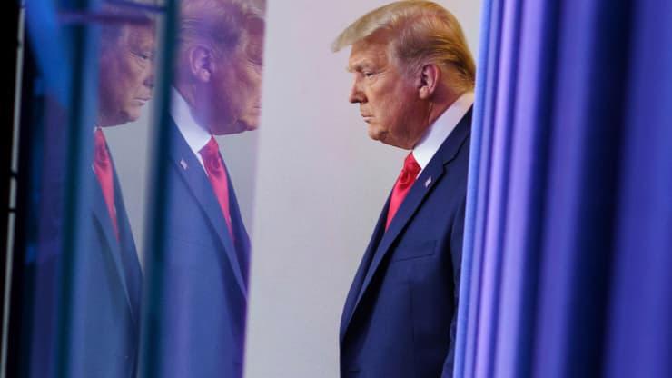 Tổng thống Mỹ Donald Trump tại Nhà Trắng hôm 24/11 - Ảnh: Getty/CNBC.