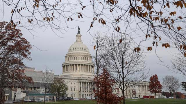 Tòa nhà Quốc hội Mỹ trên đồi Capitol ở Washington DC - Ảnh: Reuters.