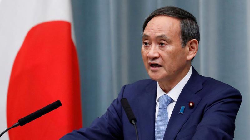 Thủ tướng Nhật Bản Yoshihide Suga - Ảnh: Reuters.