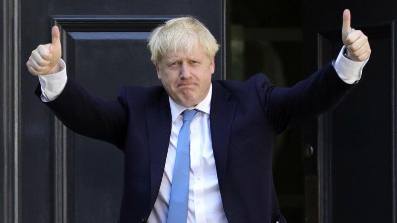 Thủ tướng Anh Boris Johnson - Ảnh: AP.