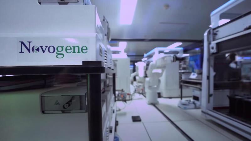 My Health kết hợp với công ty Novogene có trụ sở tại Hoa Kỳ.