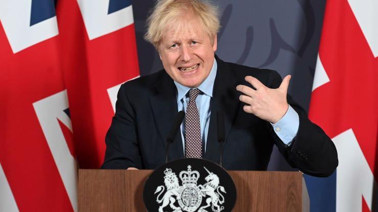 Thủ tướng Anh Boris Johnson - Ảnh: Getty/CNBC.