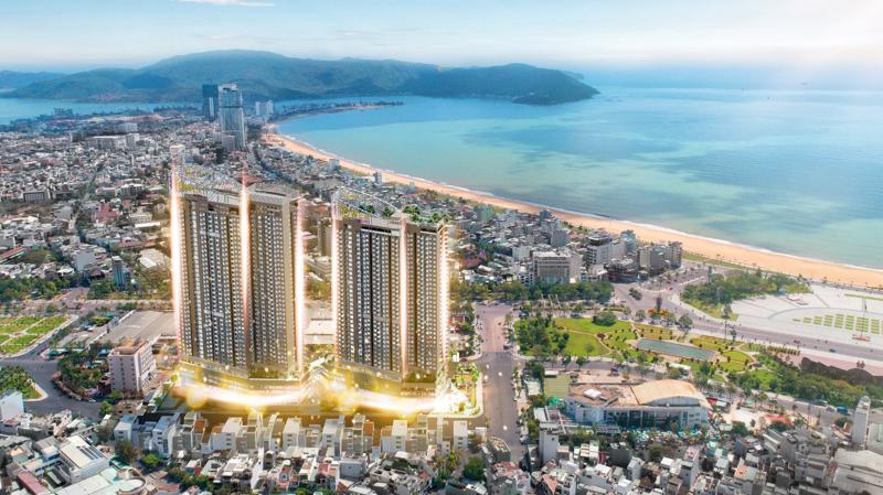 """I - Tower Quy Nhơn là biểu tượng """"bình minh mới của miền Trung""""."""