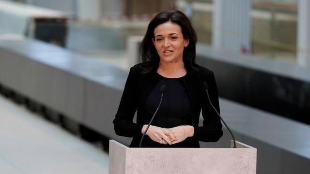 COO Sheryl Sandberg của Facebook - Ảnh: Reuters.