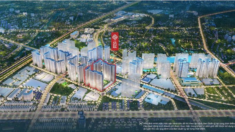 """The Sakura thừa hưởng trọn vẹn những lợi thế """"vàng"""" của Vinhomes Smart City cũng như tâm điểm mới phía Tây, nơi có hạ tầng giao thông và xã hội hiện đại bậc nhất Thủ đô."""