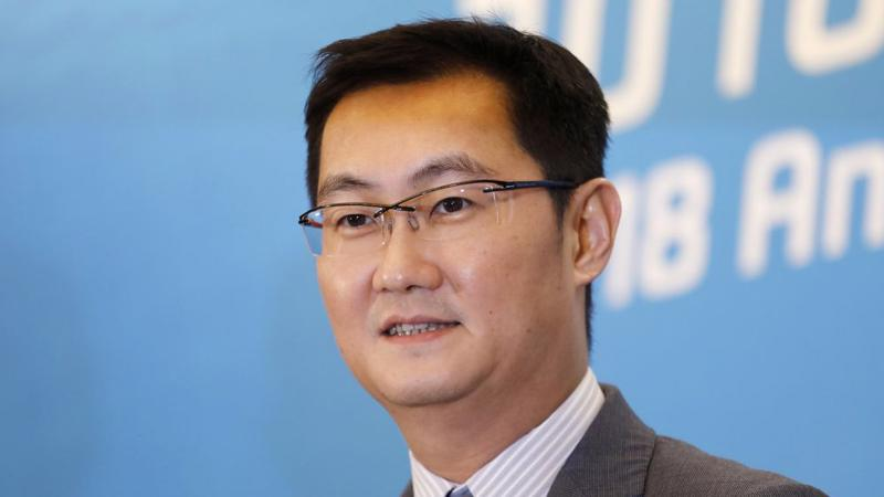 CEO Ma Huateng của Tencent.