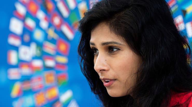 Chuyên gia kinh tế trưởng của IMF, bà Gina Gopinath - Ảnh: Getty/CNBC.